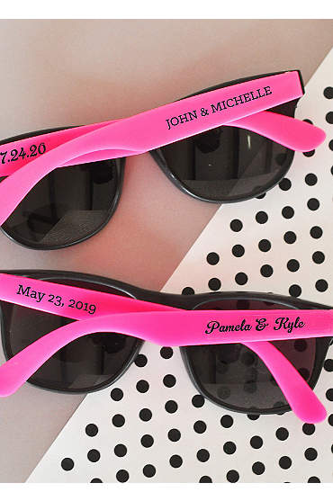 Personalized Wedding Sunglasses