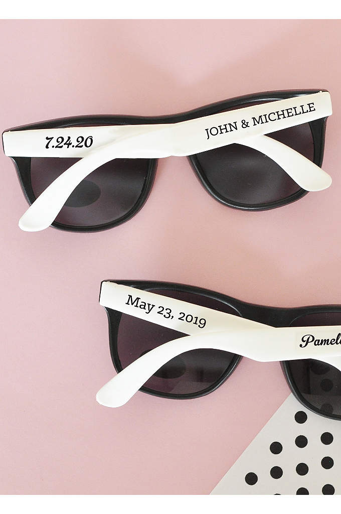 Personalized Wedding Sunglasses - Be the hottest wedding celebration this year with