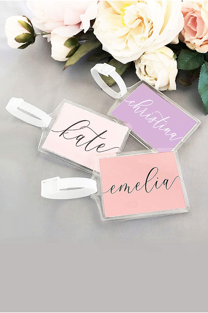 Personalized Luggage Tags - Personalized luggage tags make a great gift for