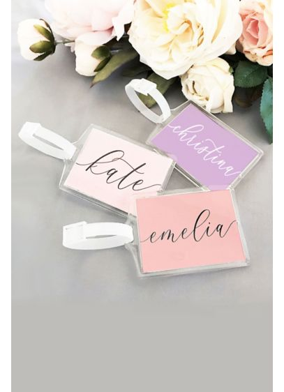 Personalized Luggage Tags - Wedding Gifts & Decorations