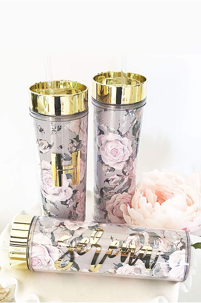 Personalized Rose Garden Tumblers - Rose garden tumblers are a stylish and practical