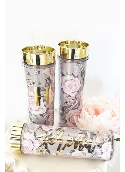 Personalized Rose Garden Tumblers - Wedding Gifts & Decorations