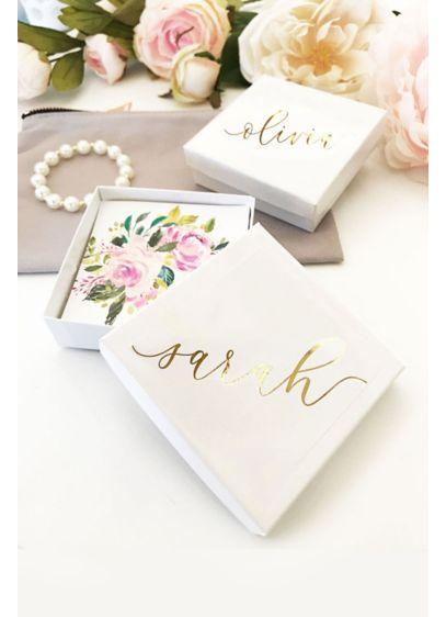 Personalized Jewelry Gift Box - Personalized jewelry gift boxes help easily package any