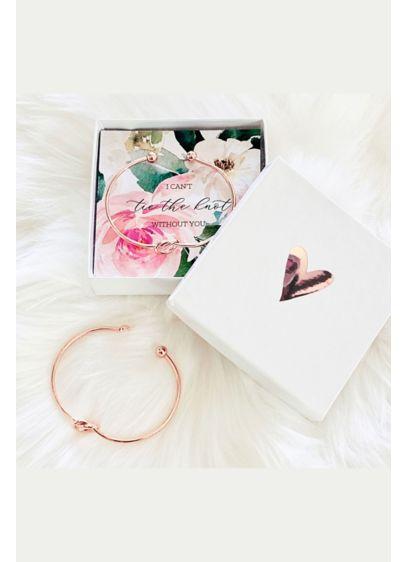 Tie the Knot Spring Floral Bracelets - Tie the knot bracelets make a stylish gift