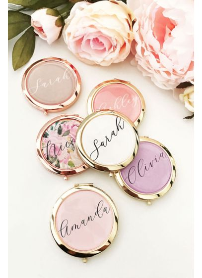 Yellow (Personalized Compact Mirror)