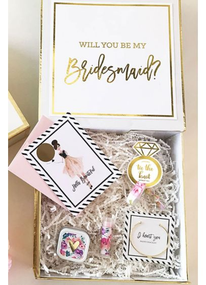 Personalized Bridal Party Gift Box Wedding Gifts Decorations