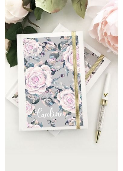 Personalized Rose Garden Journal - Wedding Gifts & Decorations