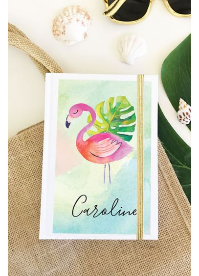 Personalized Tropical Beach Journals - Wedding Gifts & Decorations