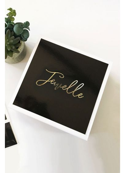 Black (Personalized Gift Box)