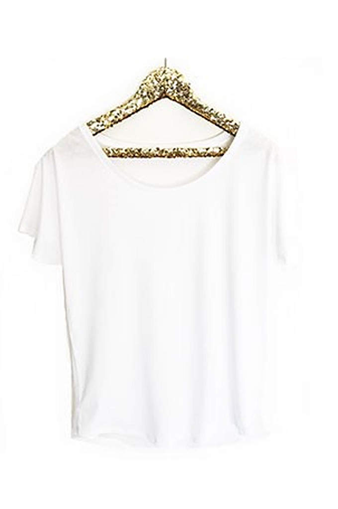 Personalized Mrs Loose Fit Tee - Future Mrs. shirts are printed with metallic foil