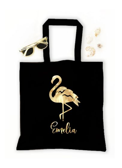Personalized Tropical Tote Bags - Wedding Gifts & Decorations