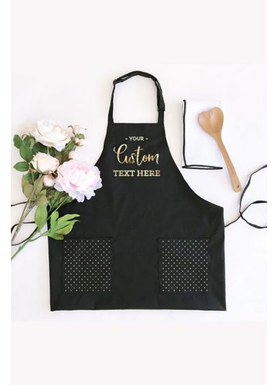 Personalized Text Apron - Personalized Text Aprons make a great gift for
