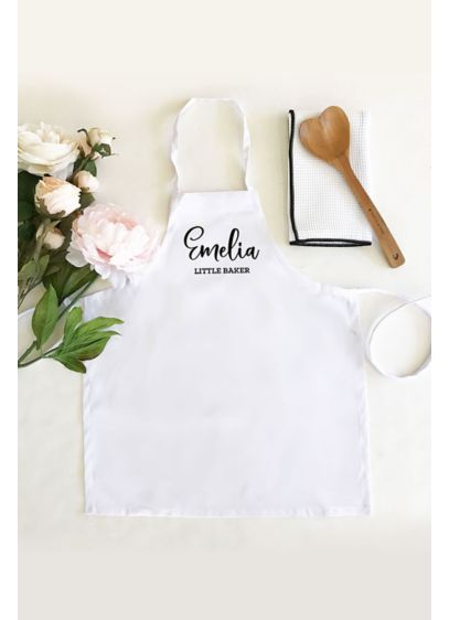 Personalized Childs Apron - Kid's custom text aprons make a great gift