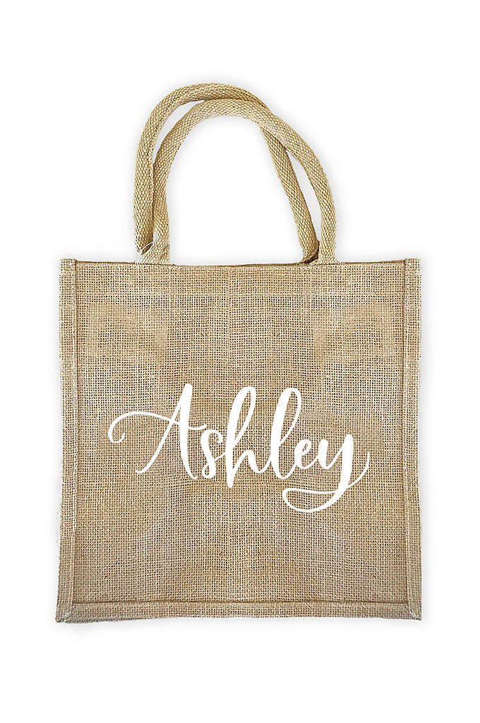Personalized Burlap Tote Bag - These personalized burlap tote bags are versatile and