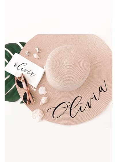 Personalized Sun Hat - Wedding Gifts & Decorations