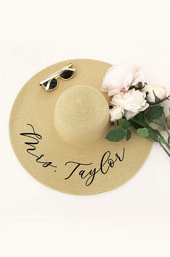 Personalized Sun Hat - Personalized sun hats make a practical and stylish
