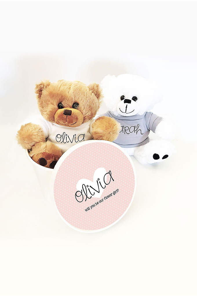 Personalized Teddy Bear with Gift Box - Custom teddy bears make a great gift for