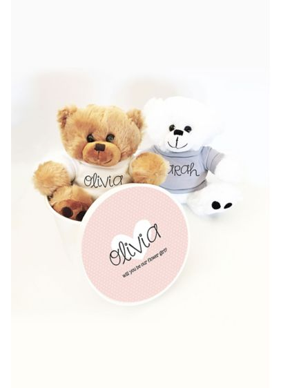 Brown (Personalized Teddy Bear with Gift Box)