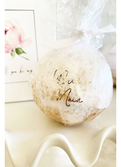 Yellow (Bridal Party Proposal Glitter Bath Bomb)