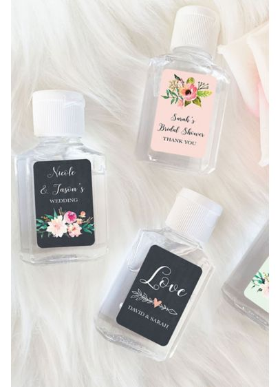 Personalized Garden Theme Hand Sanitizer Favors - Keep your guests' wellbeing in mind with cute