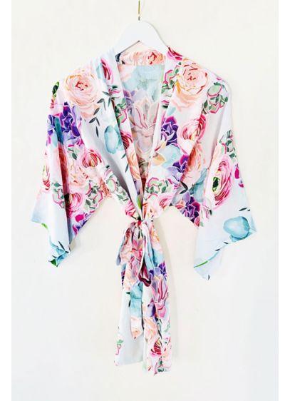 Multi (Succulent Cotton Robe)