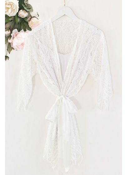 Lace Robe - Wedding Gifts & Decorations