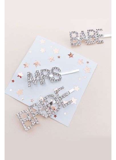 Rhinestone Bridal Party Hair Pin - Wedding Gifts & Decorations