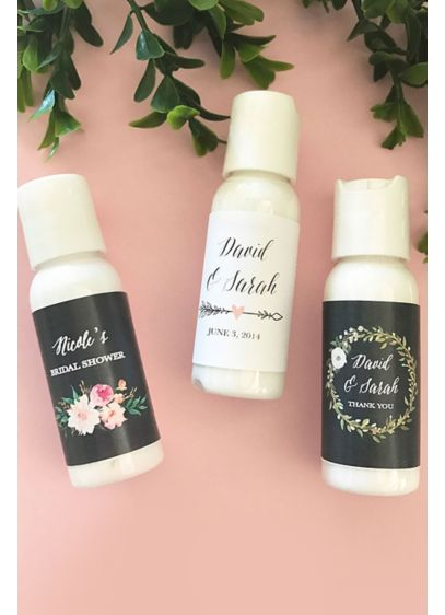 Personalized Floral Garden Hand Lotion - Wedding Gifts & Decorations