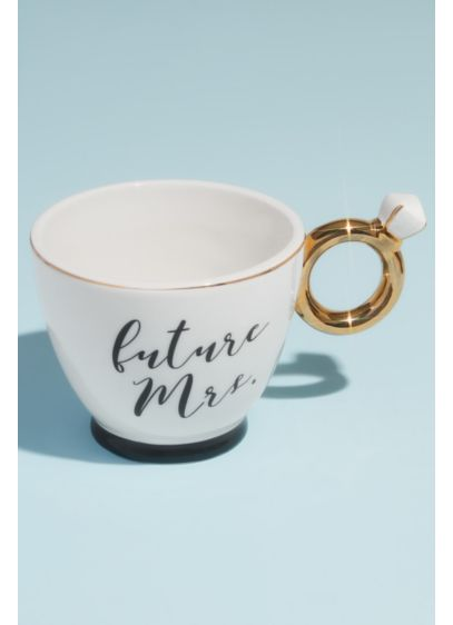 Future Mrs Engagement Ring Mug - Drink your coffee or tea out of this