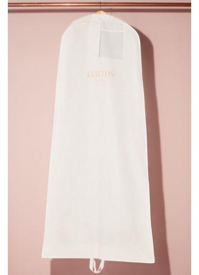 David's Bridal White (I Found The One Garment Bag)