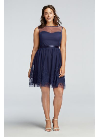 Short A-Line Tank Cocktail and Party Dress -