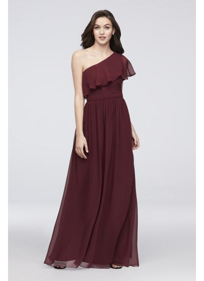 Long Purple Soft & Flowy Reverie Bridesmaid Dress