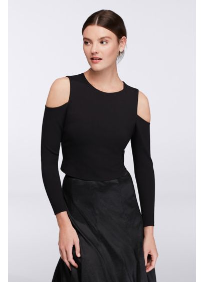 Not Applicable Sheath Long Sleeves Cocktail and Party Dress - Eliza J