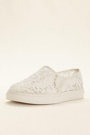 95412ed0eed Steve Madden Ivory (Steve Madden Bridal Lace Slip On Sneaker). Save
