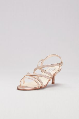 a8d197cc6a2c ... Crisscross Low Metallic Heels). Save