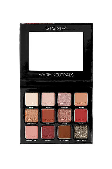 Sigma Beauty Warm Neutrals Eyeshadow Palette