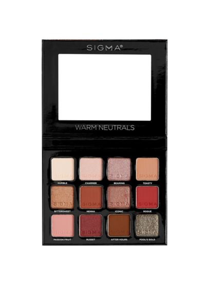 Sigma Beauty Warm Neutrals Eyeshadow Palette - Wedding Gifts & Decorations
