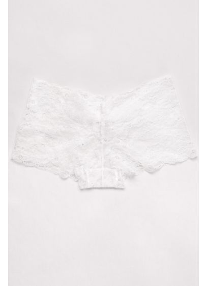 Lace Cheeky Brief with Bow - Wedding Accessories
