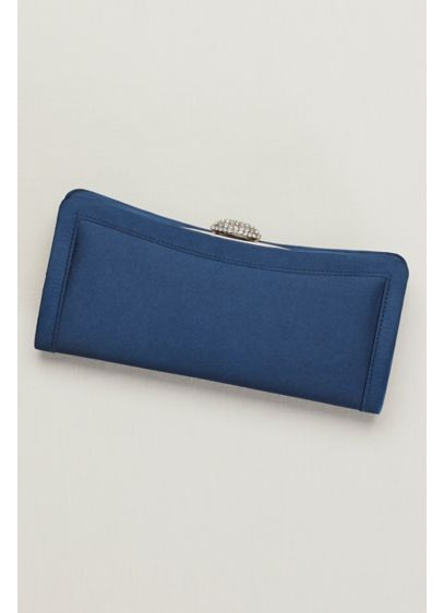 Satin Pave Clutch - Wedding Accessories