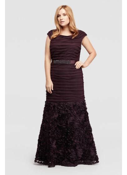 Long Mermaid / Trumpet Cap Sleeves Formal Dresses Dress - Emma Street