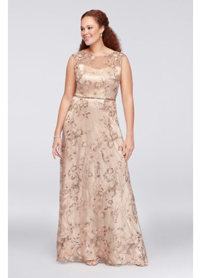 Long Ballgown Cap Sleeves Cocktail and Party Dress -