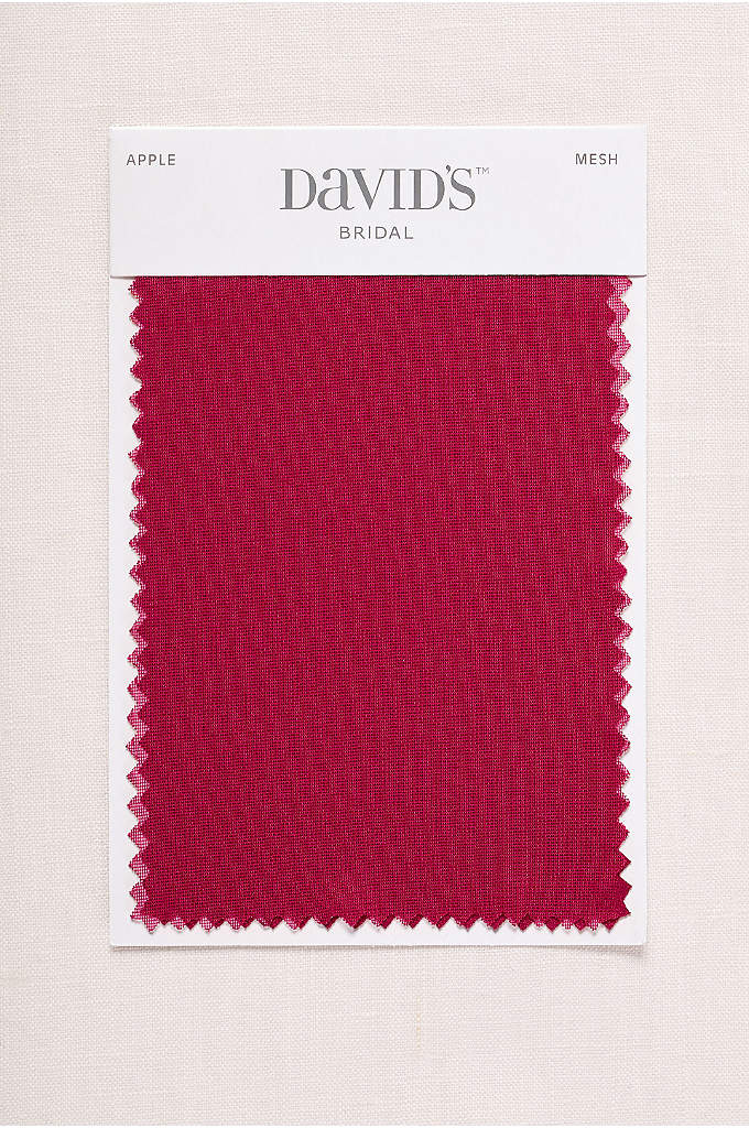 Apple Fabric Swatch - Available in all of David's Bridal's exclusive colors,