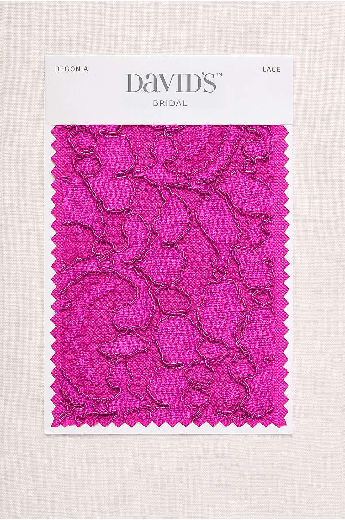 Begonia Fabric Swatch - Available in all of David's Bridal's exclusive colors,
