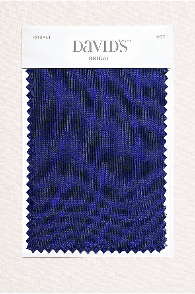 Cobalt Fabric Swatch - Available in all of David's Bridal's exclusive colors,