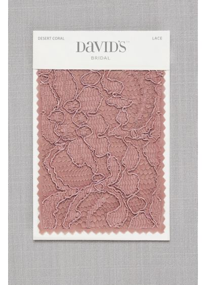 Desert Coral Fabric Swatch - Available in all of David's Bridal's exclusive colors,