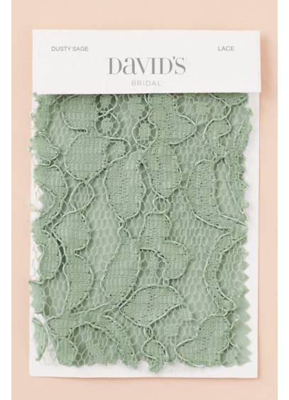 Dusty Sage Fabric Swatch - Available in all of David's Bridal's exclusive colors,