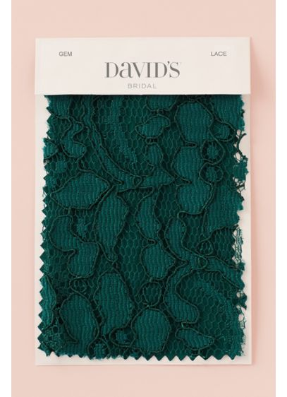 Gem Fabric Swatch - Available in all of David's Bridal's exclusive colors,