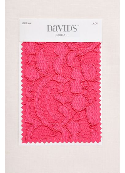 Guava Fabric Swatch - Available in all of David's Bridal's exclusive colors,