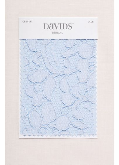 Ice Blue Fabric Swatch - Available in all of David's Bridal's exclusive colors,