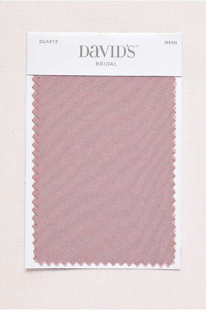 Quartz Fabric Swatch - Available in all of David's Bridal's exclusive colors,
